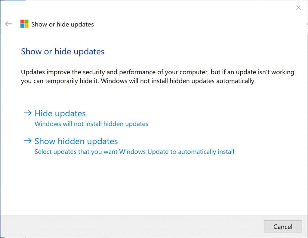 Windows 10 1803 Update Failure – Bogdan's Blog